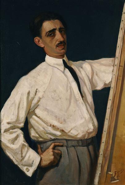 Self-Portrait, 1926 - Periklis Vyzantios