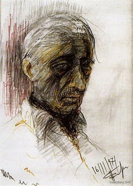 Self-Portrait -  Periklis Vyzantios