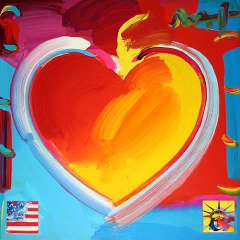 Heart, 2009 - Peter Max