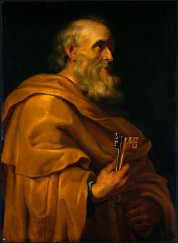 Saint Peter Saint Peter Peter Paul Rubens WikiArtorg