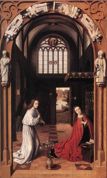 The Annunciation, 1452 - Петрус Кристус