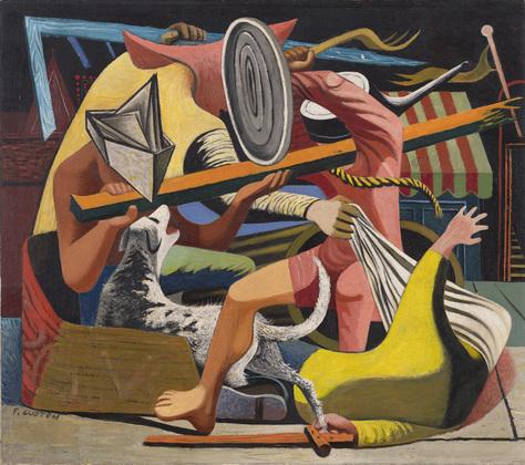 Gladiators, 1940 - Philip Guston