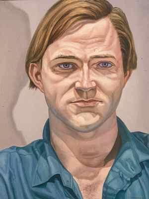 Portrait of Robert Storr, 1988 - Philip Pearlstein