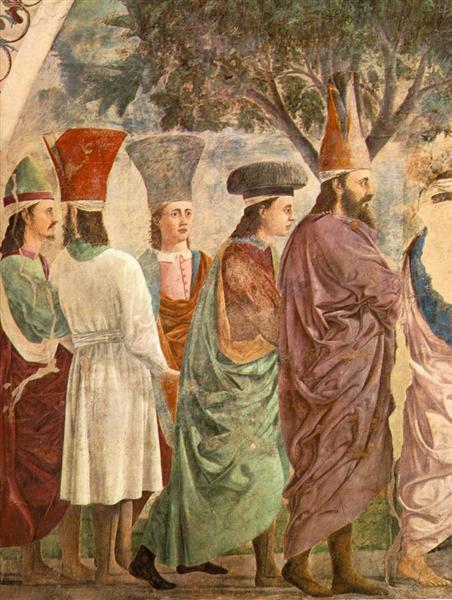 Exaltation of the Cross (detail), 1452 - 1466 - Piero della Francesca