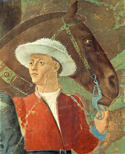 Procession of the Queen of Sheba (detail), 1452 - 1466 - Piero della Francesca