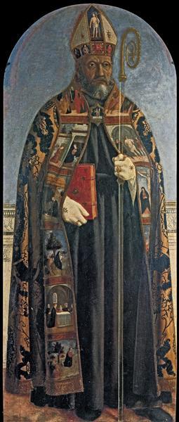 St. Augustine, 1454 - Piero della Francesca