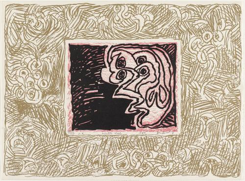 Double Vision (Double vue), 1970 - Pierre Alechinsky