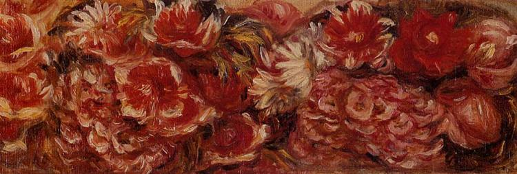 Floral Headband - Pierre-Auguste Renoir