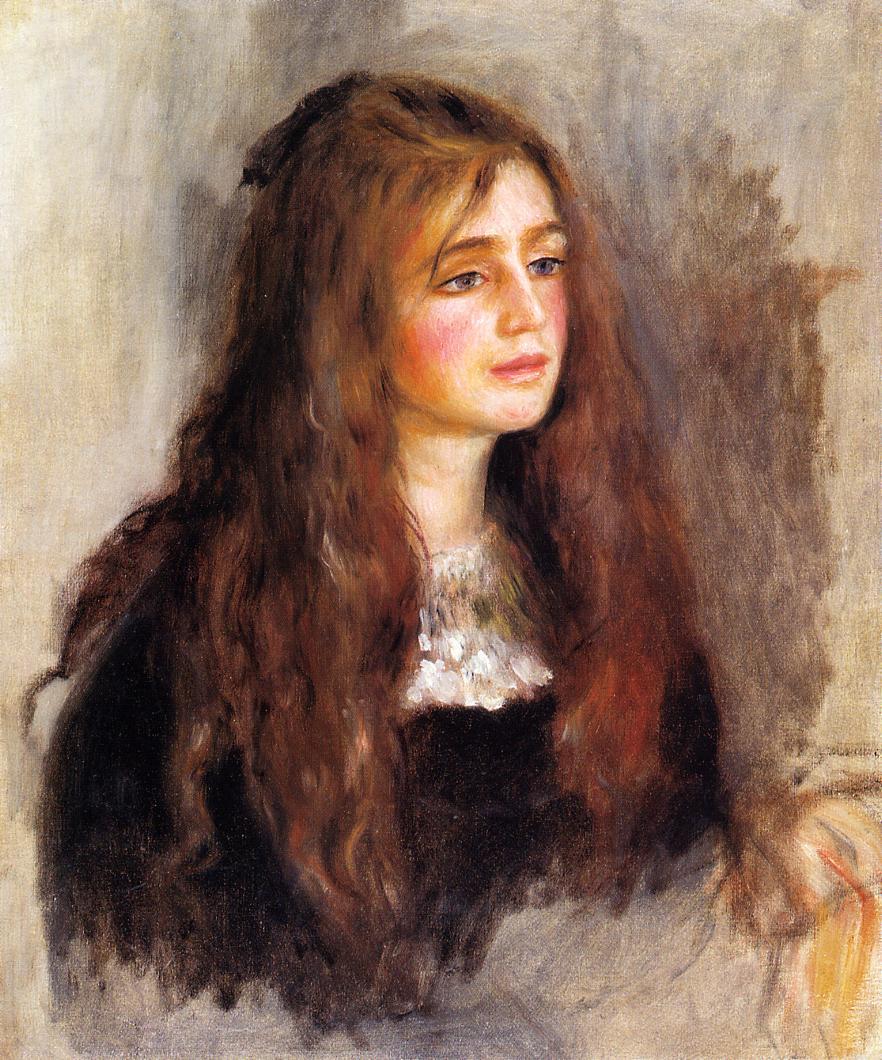 Julie Manet, 1894 - Pierre-Auguste Renoir - WikiArt.org