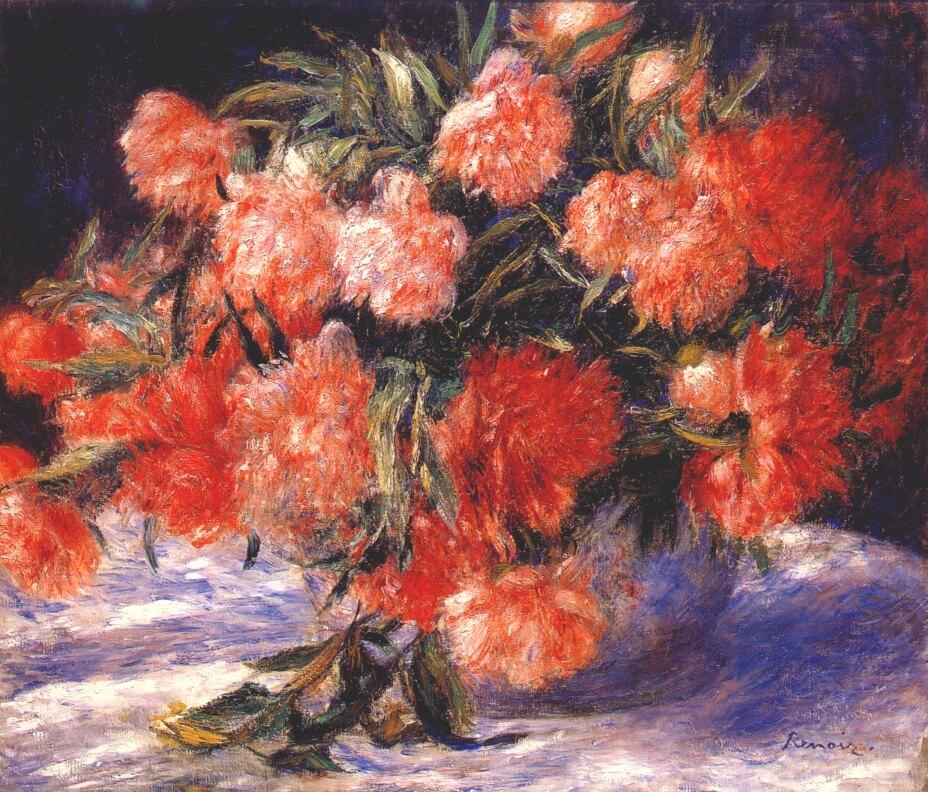Famous Impressionist Flower Paintings