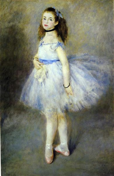 The Dancer, 1874 - Pierre-Auguste Renoir