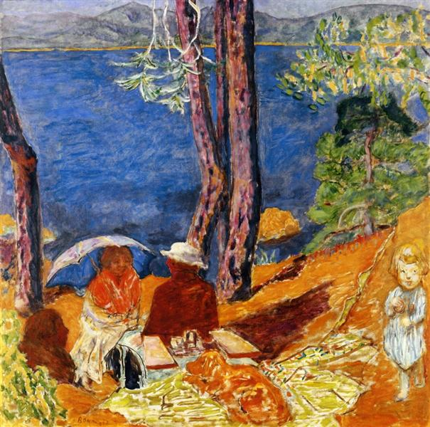 By the Sea, Under the Pines, 1921 - Pierre Bonnard