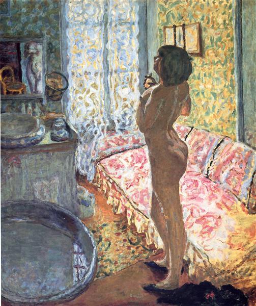 Model in Backlight, 1908 - Pierre Bonnard
