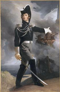 Portrait of Louis du Vergier - Pierre Narcisse Guérin