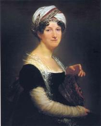 Portrait of Madame Péan de Saint-Gilles - Pierre Paul Prud'hon