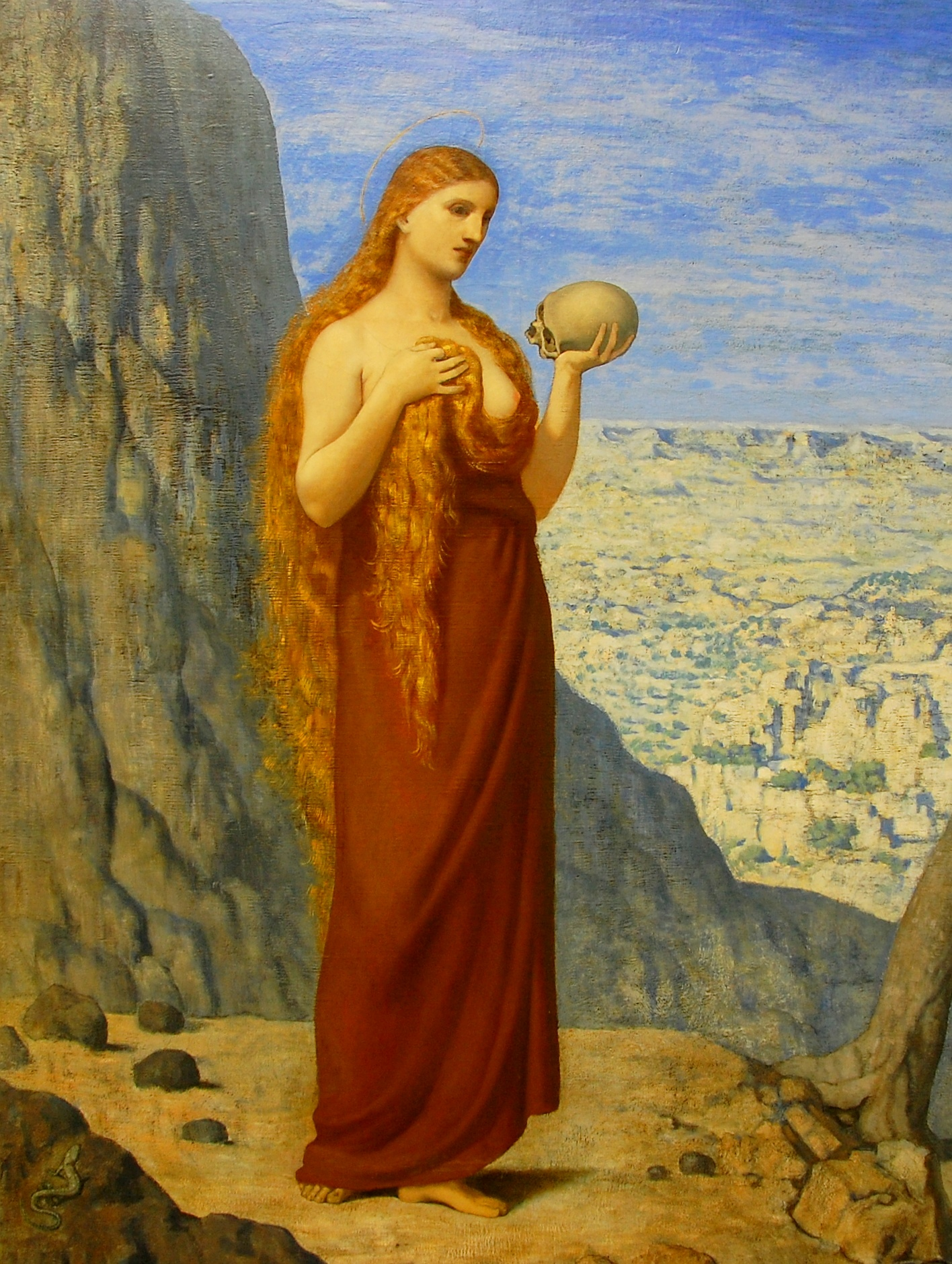 Mary Magdalene in the Desert, 1869