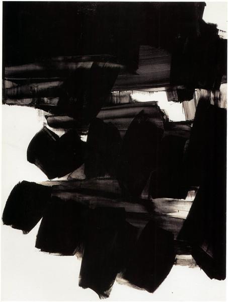 Peinture 260 x 202 cm, 19 juin 1963, 1963 - Pierre Soulages