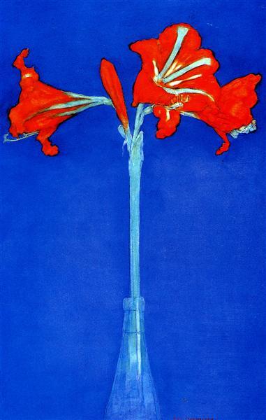 Amaryllis, 1910 - Piet Mondrian