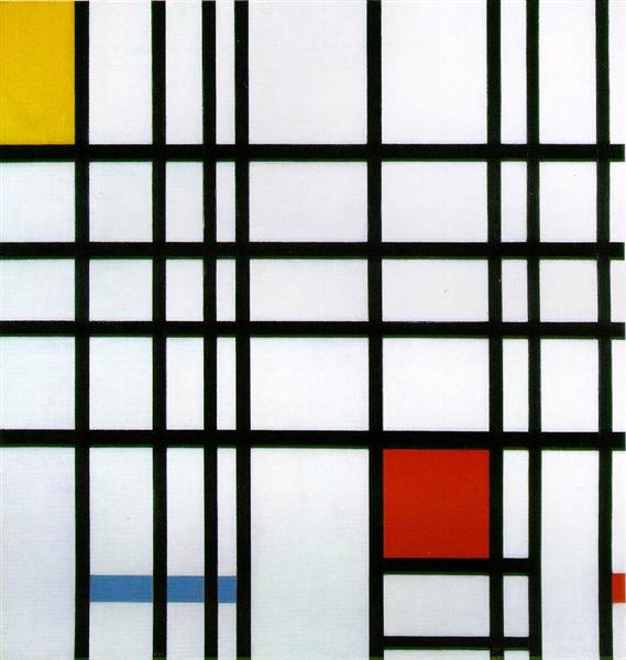 Composition with Red, Yellow and Blue, 1937 - 1942 - Piet Mondrian