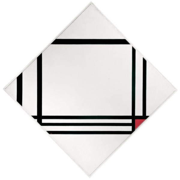 PICTURE NO. III, 1938 - Piet Mondrian