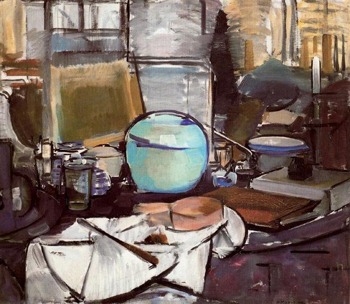 Still Life with Gingerpot 1, 1911 - Piet Mondrian