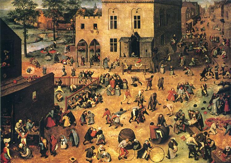 Children's Games, 1560 - Pieter Bruegel o Velho