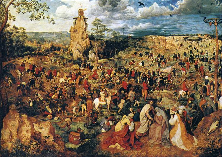 The Procession to Calvary, 1564 - Pieter Bruegel the Elder