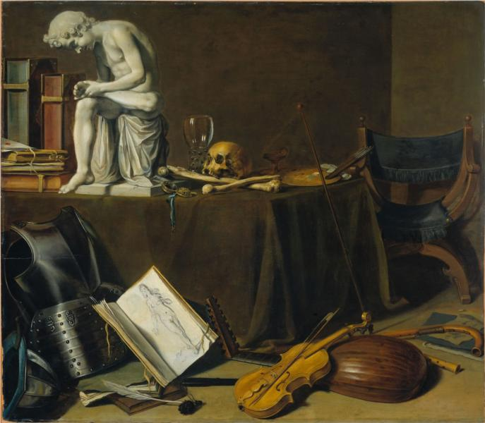 Vanitas Still-life, 1628 - Pieter Claesz