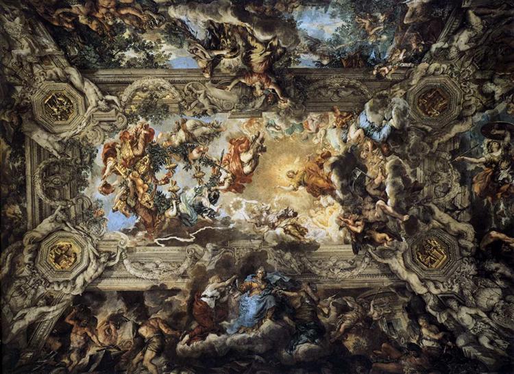 The Triumph of Divine Providence, 1633 - 1639 - Pietro da Cortona