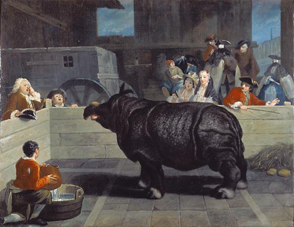 Rhinoceros in Venice, 1751 - Pietro Longhi