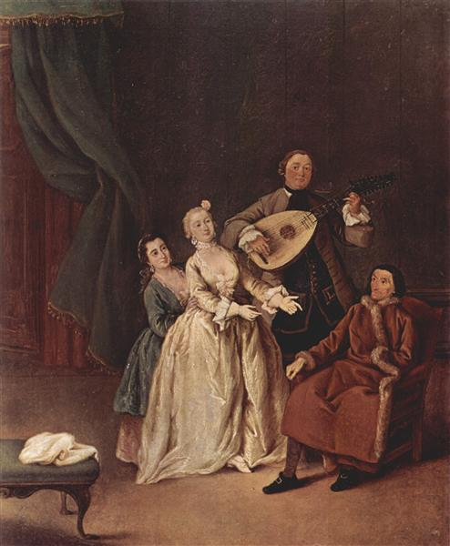 The Family Concert, 1760 - Pietro Longhi