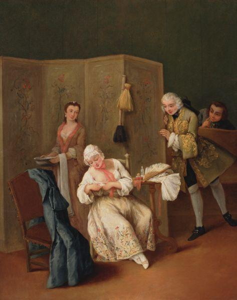 The Indiscreet Gentleman - Pietro Longhi