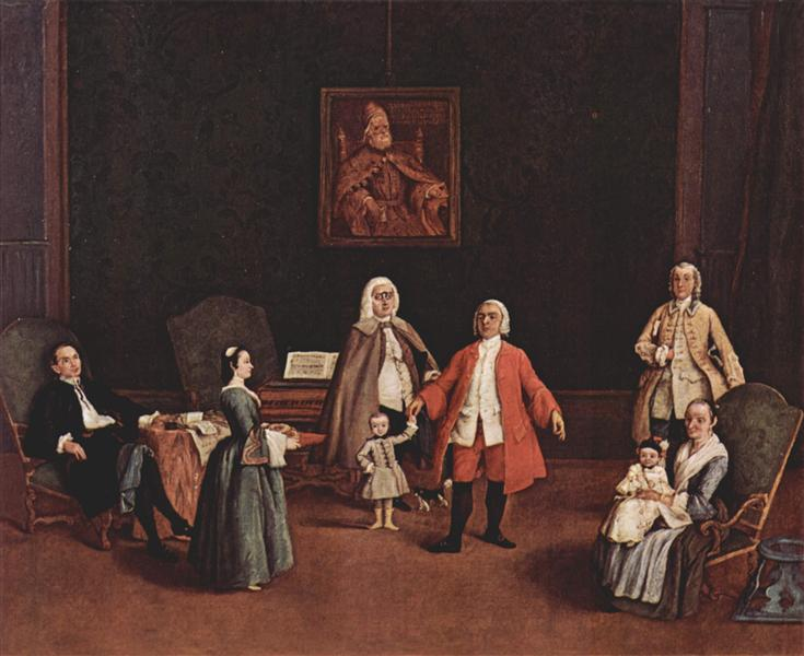 The Venetian Family, 1760 - 1765 - Pietro Longhi