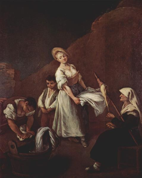 The Washerwomen - Pietro Longhi