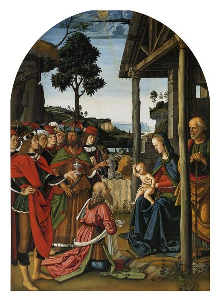 The Adoration of the Magi - Pietro Perugino