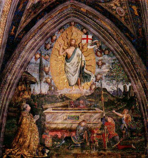 The Resurrection, 1492 - 1494 - Pinturicchio