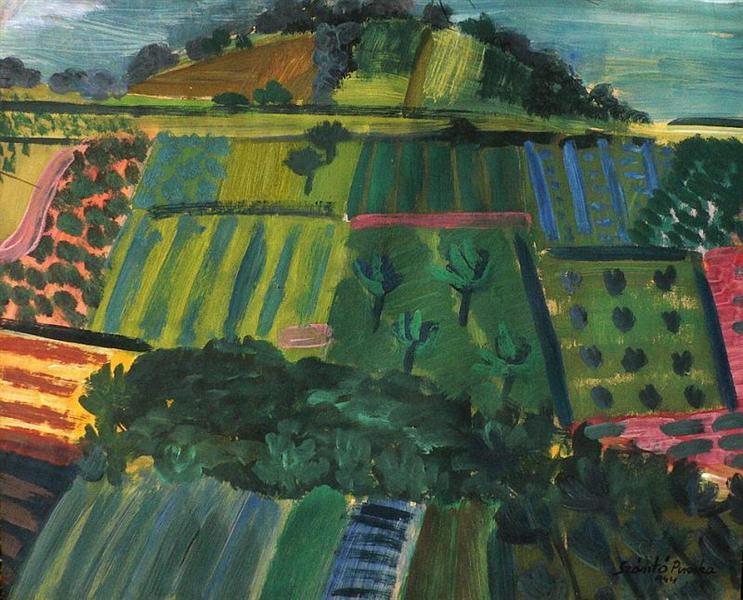 Hillside, 1944 - Piroska Szanto