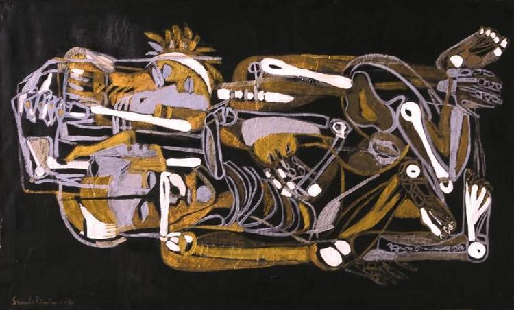 Lovers (Bone Music), 1970 - Piroska Szanto