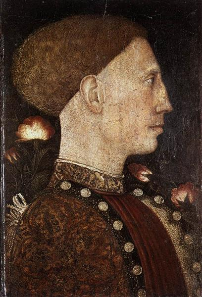 Portrait of Leonillo d'Este - Antonio Pisanello