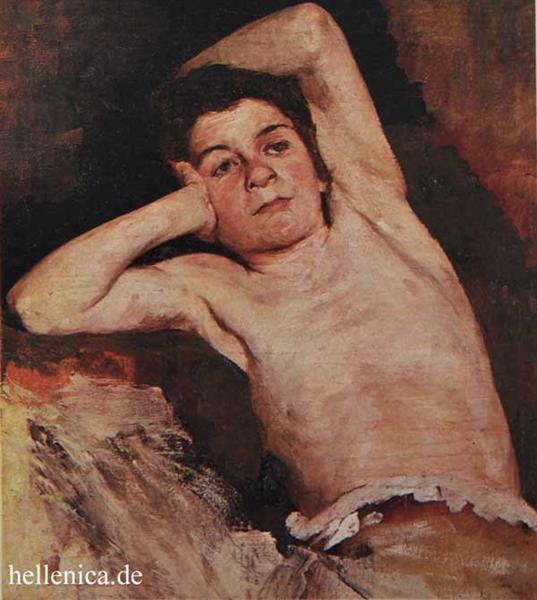Half-naked child - Polychronis Lembesis