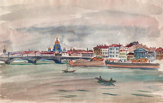 Leningrad. Neva., 1931