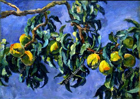 Peaches on the branches, 1930