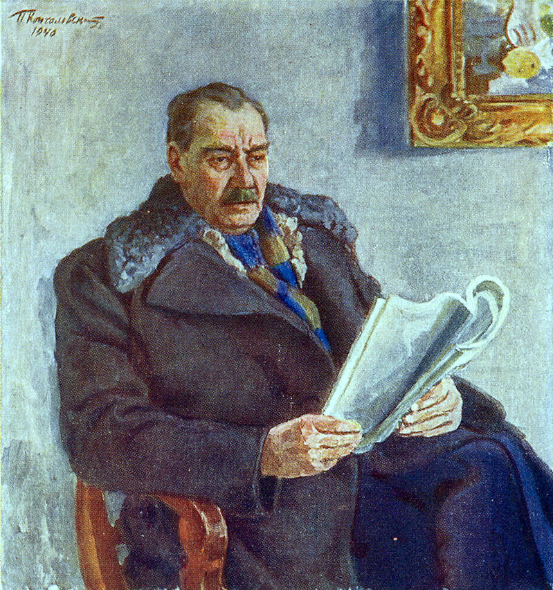 Portrait of Constantin Andreyevich Trenev, 1941
