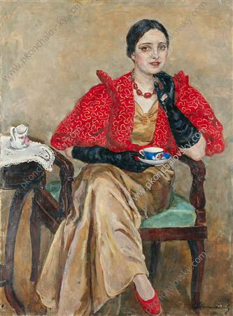 Portrait of G. A. Egorova, 1934