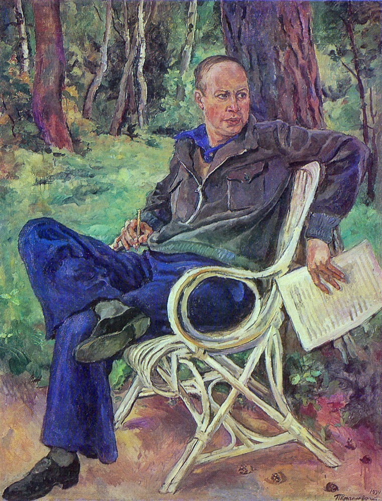 Portrait of the composer Sergei Prokofiev, 1934