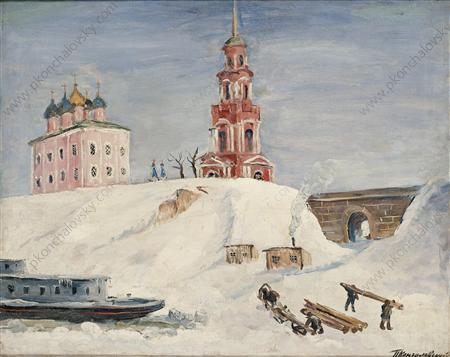 Quay in Ryazan, 1931