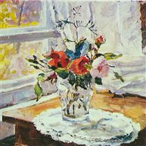 Roses - Pjotr Petrowitsch Kontschalowski