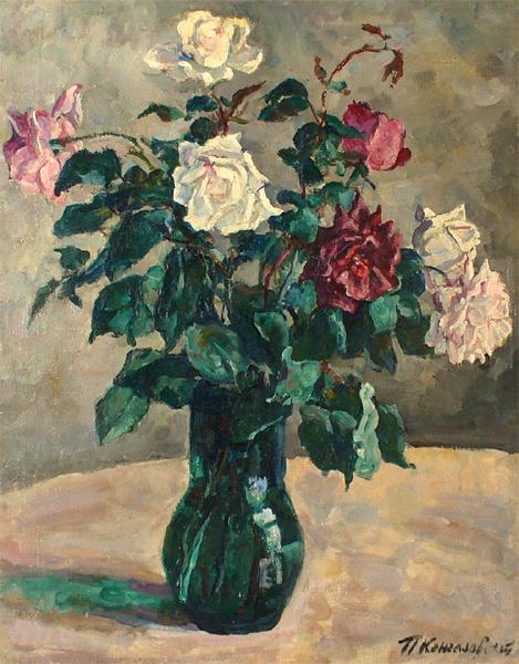 Roses in a Jug, 1936