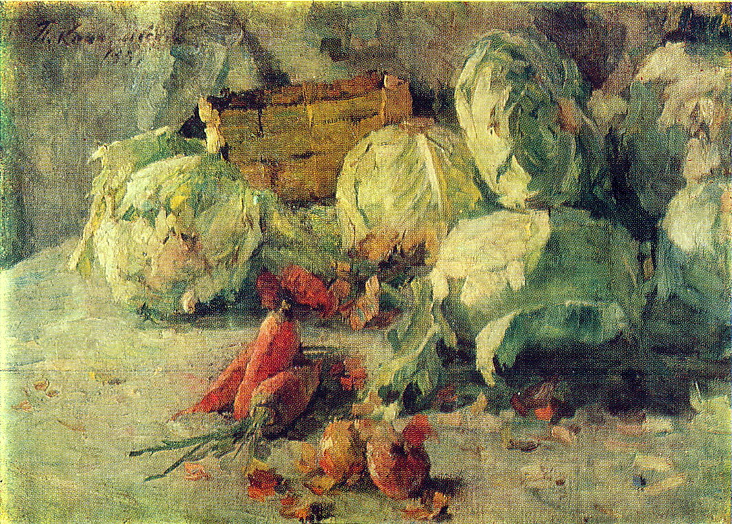 Still Life with Cabbage, 1937