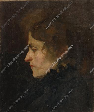 The head of Frenchwoman, 1897